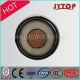 高圧Hvケーブル、単心XLPEの絶縁体の銅ケーブル