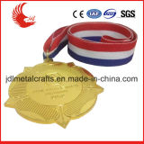 리본을%s 가진 메달의 중국 지역 특징 자유로운 디자인