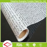 Rodillo sin blanquear del papel de pergamino de la fábrica