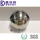 esferas inoxidáveis do jardim das esferas de aço de 10cm que flutuam o metal da lagoa decorativo