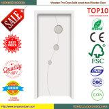 Unterscheidende Auslegung-Badezimmer-Holz-Tür