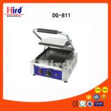 Gril électrique de contact (DG-811) tout le matériel plat d'hôtel de matériel de cuisine de machine de nourriture de matériel de restauration de BBQ de matériel de boulangerie de la CE