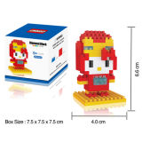 Os desenhos animados Buliding dos brinquedos de DIY obstruem o brinquedo (H9537056)