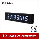 [Ganxin] reloj de pared grande de 6digit 7segment Digitaces LED