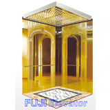 FUJI Passenger Elevator com Hairline Stainless Steel