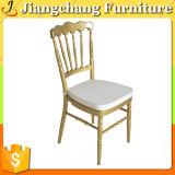 금 알루미늄 쌓을수 있는 호텔 Chiavari 의자 Jc-Zj626