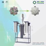 Haustier-Flaschen-Wiederverwertung und Waschmaschine