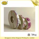 Lables de papel personalizado o etiquetas engomadas del PVC