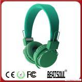 선전용 선물 Foldable 입체 음향 헤드폰