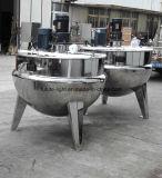 Cocina inoxidable sanitaria de la caldera de la chaqueta de acero de la buena calidad