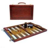 Jogo de madeira clássico do Backgammon