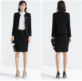Feito a Formal Suit de Measure Ladies Pencil Skirt Suit Women