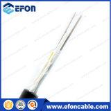 Câble fibre optique Non-Blindé de 48 faisceaux de conduit aérien de G652D (GYTY)