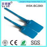 Горячим подгонянное сбыванием пластичное уплотнение обеспеченностью с кодом штриховой маркировки (PP)