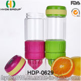 Recentemente BPA liberano la bottiglia di acqua di plastica di Infuser della frutta, la bottiglia di acqua della frutta di Tritan (HDP-0629)