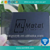 Изготовленный на заказ нержавеющая визитная карточка металла для управления VIP