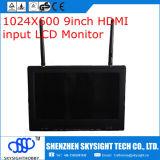 """5.8g 40CH 9 """" (pas 7) moniteur de pouce avec l'entrée de récepteur de diversité HDMI"""