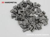 Цементированный карбид паял поворачивая вставки