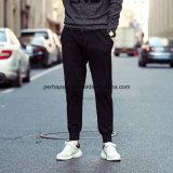 최신 판매 남자 면은 여가 느슨한 순수한 색깔 바지를 입는다