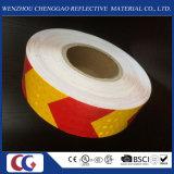 빨강 & 노란 화살 사려깊은 안전 테이프 (C3500-AW)