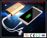 Stun Gun avec Mobile Power Bank / Self Defensive