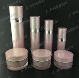 ピンクのアクリルのクリーム色の瓶のローションのびん(PPC-CPS-067)を包む新しい化粧品