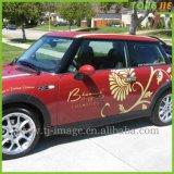 Projetar a etiqueta bonita do carro da personalidade elegante