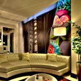 Neues modernes umweltfreundliches kundenspezifisches Wandverkleidungs-Tapeten-Bedrucken