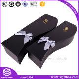 贅沢なカスタム包装のロゴの印刷紙のローズのギフトの花ボックス
