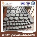 Placas del carburo de tungsteno K10 para las herramientas de corte