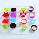 Molde del chocolate del Uno-Color del silicón de la categoría alimenticia del regalo FDA de la promoción/bandeja del cubo de hielo