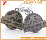 Metallo su ordinazione Keychain/anello portachiavi di marchio per il regalo di promozione