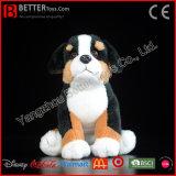 De realistische Gevulde Dierlijke Levensechte Zachte Hond van de Berg van Bernese van de Pluche van het Stuk speelgoed