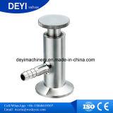 Válvula da amostragem do aço inoxidável com luva protetora