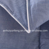 Edredones de costura de la fibra de poliester de la pluma del rectángulo de la alta calidad