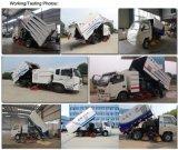 caminhões da limpeza da estrada do caminhão da vassoura de rua do caixote de lixo 4000liters