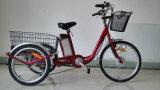 年長者のために中国製助けられるペダルが付いている最上質の電気三輪車