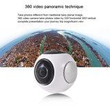 لاسلكيّة مصغّرة 360 آلة تصوير مع فائقة يوسع زاوية عدسة لأنّ رياضة عمل