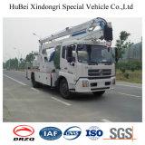 camion fonctionnant aérien de position de 20m Dongfeng avec le crochet