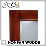 Het klassieke Bruine Houten Frame van de Spiegel voor de Decoratie van het Huis