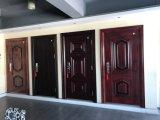 Portes en acier de Chambre de portes simples de porte d'entrée