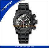 スチール・ケースの腕時計既存の型の腕時計のシンセンの工場