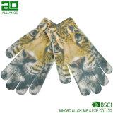 Славные перчатки волшебства печати зимы