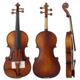 Instrumental Muscial Satin Finish Student Boxwood Violin
