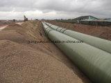L'eau interurbaine transportant la pipe de FRP/GRP