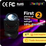 Luz móvil de la colada de la pista RGBW de Yuelight 4PCS 25W 4in1 LED