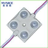 Le module de l'intense luminosité DEL de DC12V/24V SMD5730 3LED/Module pour la garantie de lettres de la Manche est UL de RoHS de la CE 3years reconnue