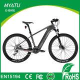 Bicicleta eléctrica del importador del marco de la fibra del carbón de 20 pulgadas con el MEDIADOS DE motor del programa piloto de Yuebo T300