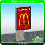 Kundenspezifisches im Freien/Innen-LED-helles Zeichen, das hellen Kasten Mupis bekanntmacht