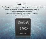 SATA HDD 2.5를 가진 지능적인 텔레비젼 Amlogic S905 Kodi 17.0 Bluetooth 4.0 인조 인간은 Google 텔레비젼 상자에서 6.0 Tvbox 건축했다